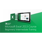 Microsoft Excel 2013 Course Beginners/Intermediate TrainingDiscount