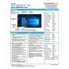 Microsoft Windows 10 -- Free Reference Card (Mac & PC) Discount