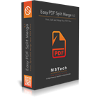 MSTech PDF Split Merge (PC) Discount