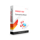 ONEKEY PDF Convert to WordDiscount