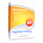 PageShare Web Hosting 2X3 - 2 websites 3 years web hosting (Mac & PC) Discount