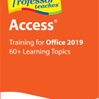 Professor Teaches Access 2019 (Mac & PC) Discount