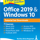 Professor Teaches Office 2019 & Windows 10 Tutorial Set Downloads (PC) Discount