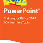 Professor Teaches PowerPoint 2019 (PC) Discount