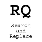 RQ Search and ReplaceDiscount