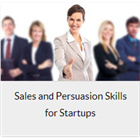 Sales and Persuasion Skills for StartupsDiscount