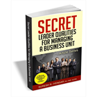 Secret Leader Qualities for Managing a Business UnitDiscount