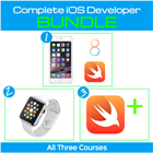 Swift, iPhone & Apple Watch 3 Course Bundle - Go From Newbie to Complete iOS Developer (Mac) Discount