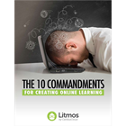 The 10 Commandments for Creating Online LearningDiscount