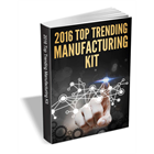 The 2016 Top Trending Manufacturing Kit (Mac & PC) Discount