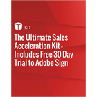 The Ultimate Sales Acceleration Kit - Includes Free 30 Day Trial to Adobe Sign (Mac & PC) Discount
