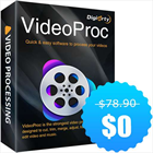 VideoProc Digiarty Anniversary Giveaway ($78.90 Value) FREE for a Limited Time (Mac & PC) Discount