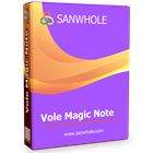 Vole Magic Note Professional Edition (PC) Discount
