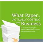 What Paper is Actually Costing Your Business (Mac & PC) Discount