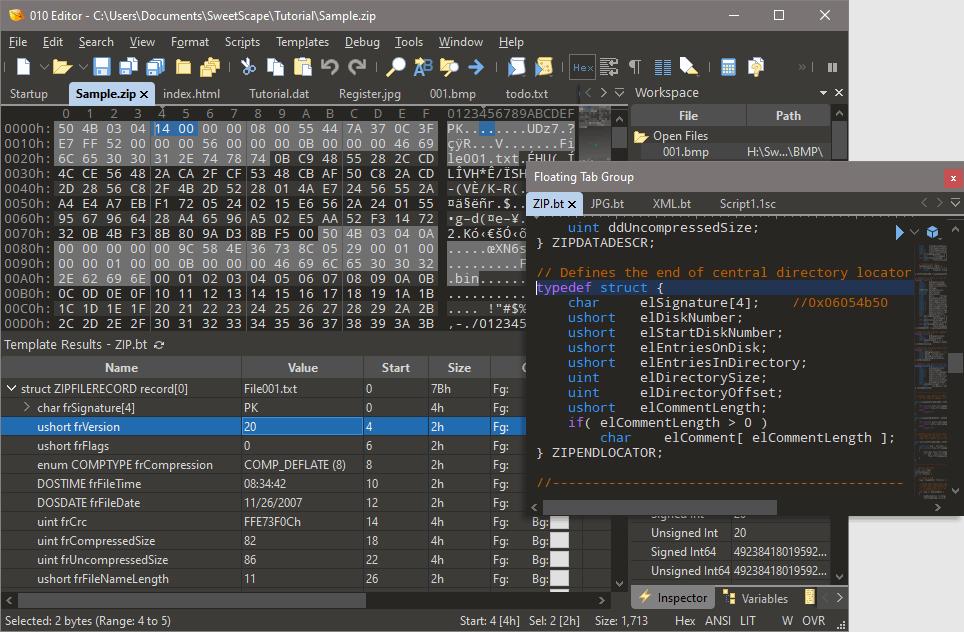 010 Editor Screenshot