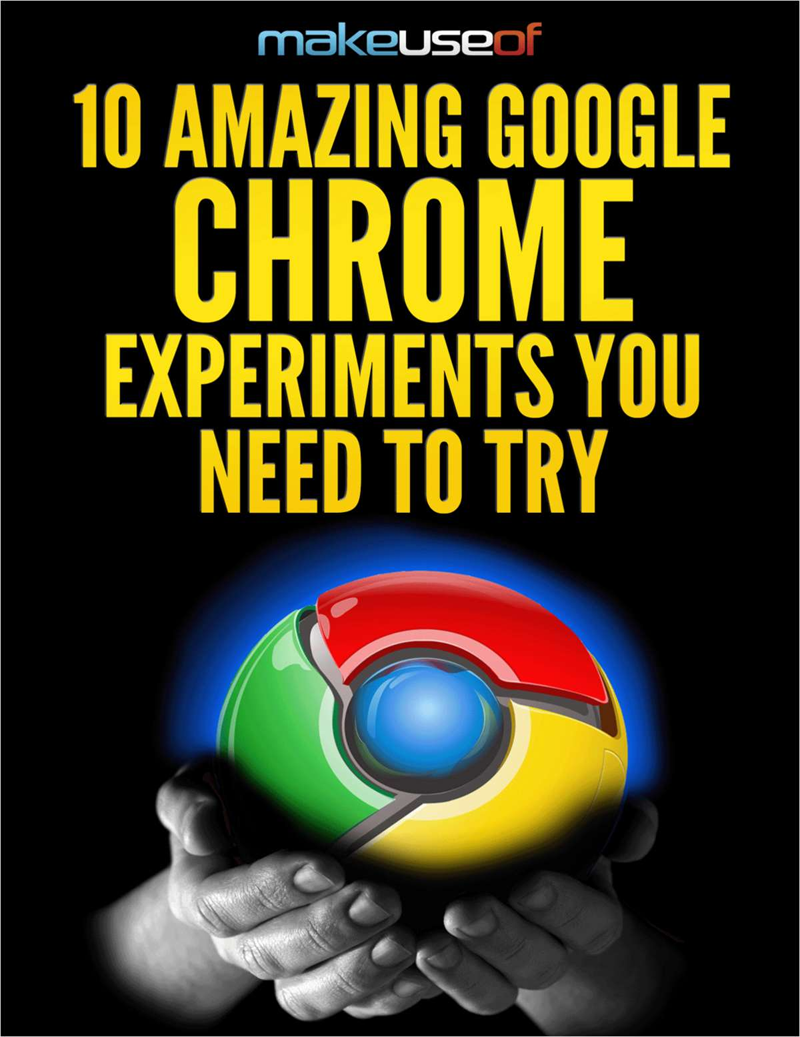 10 Amazing Google Chrome Experiments You Need to Try Screenshot