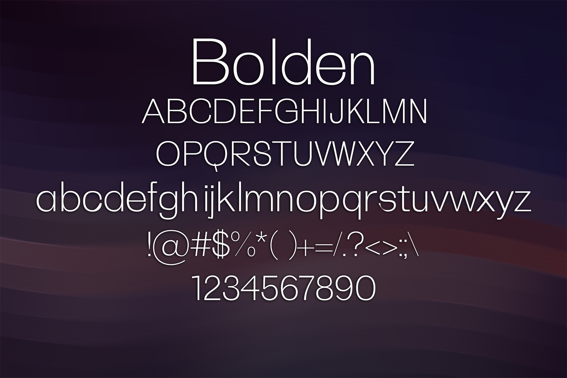 100 Premium Modern Fonts Screenshot 13