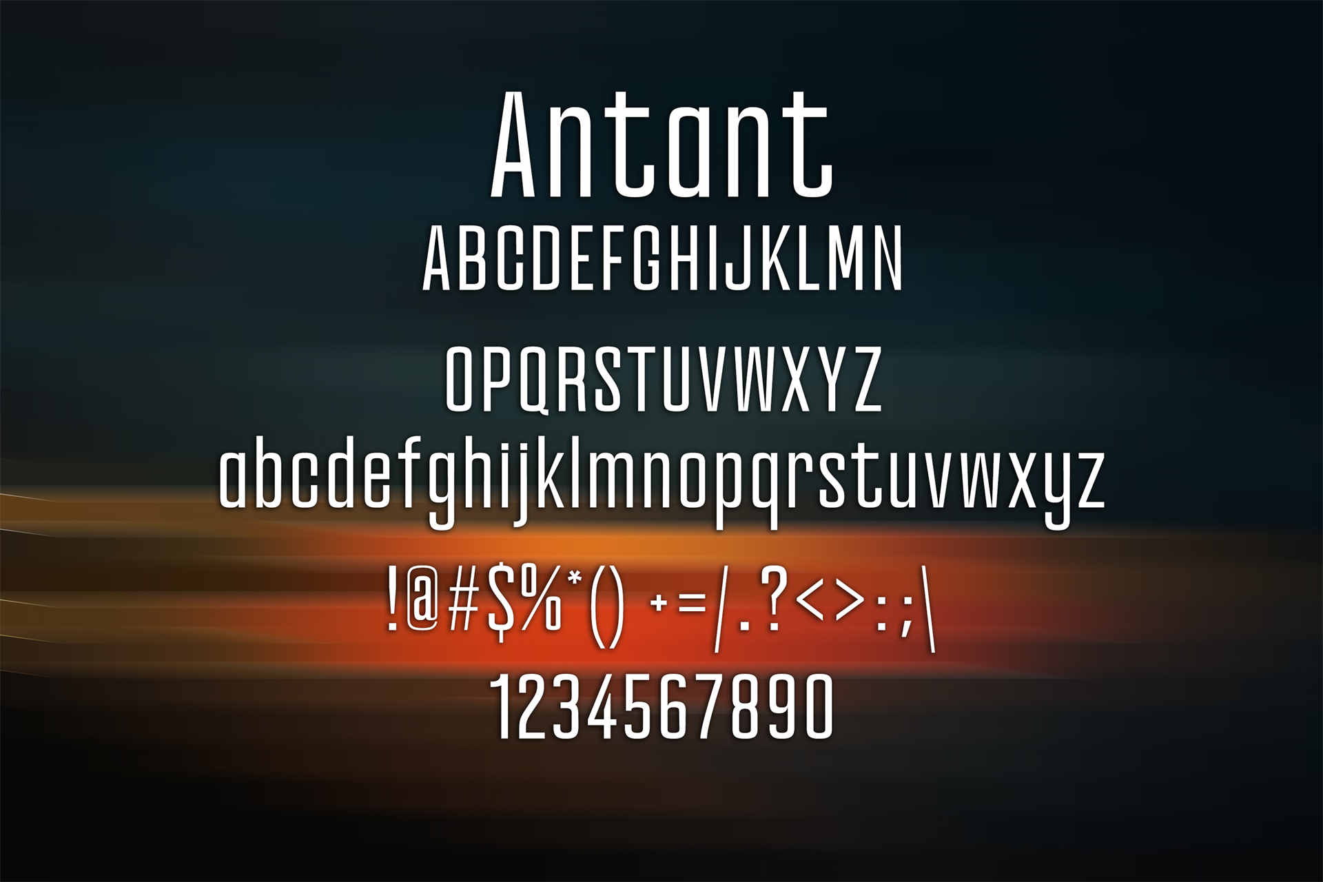 100 Premium Modern Fonts Screenshot 14