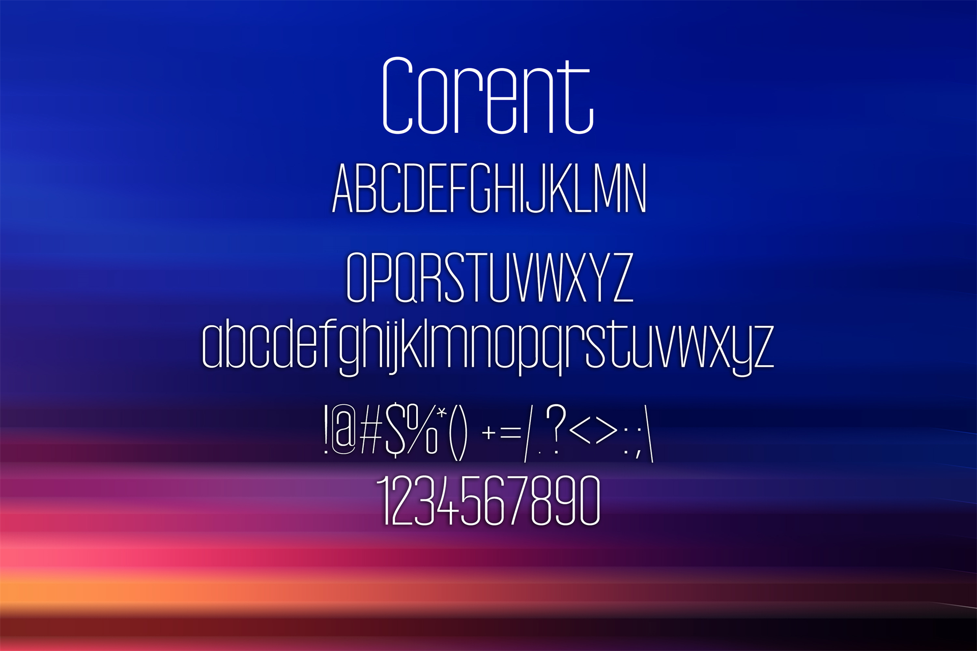 100 Premium Modern Fonts Screenshot 12