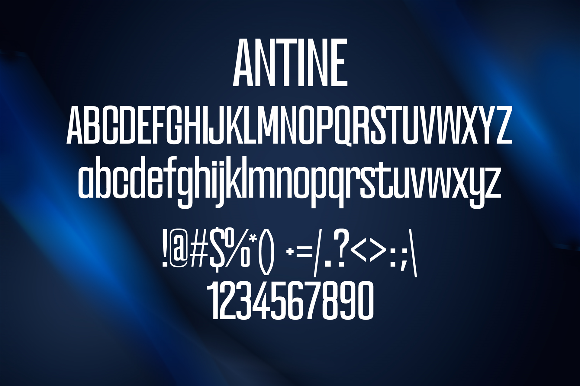 100 Premium Modern Fonts Screenshot 22