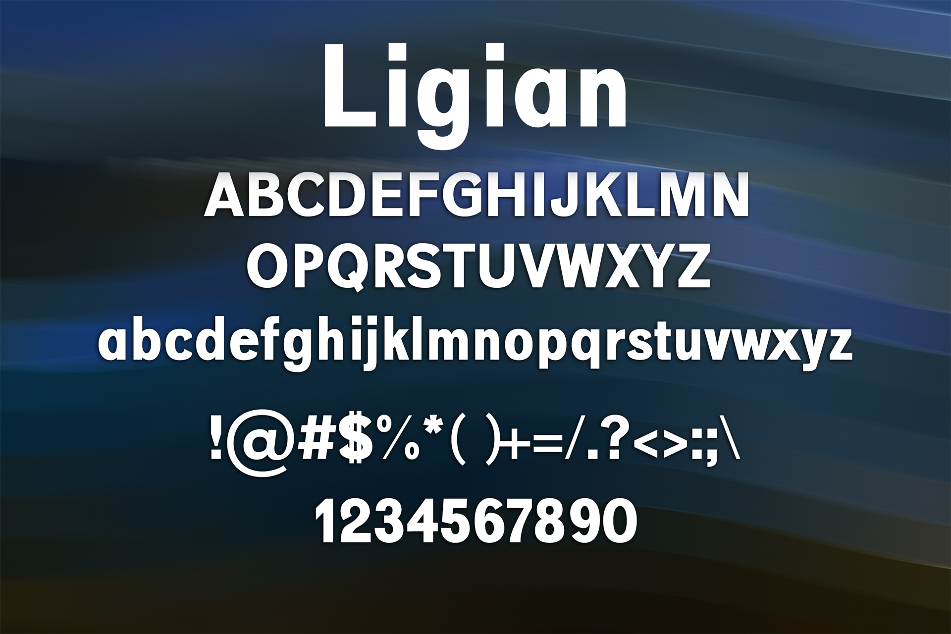 100 Premium Modern Fonts Screenshot 9