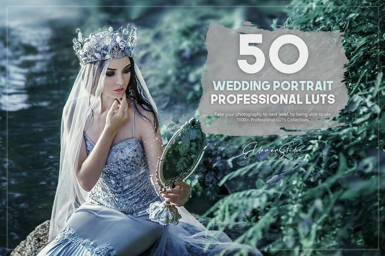 1000+ Wedding LUTs Collection, Photo Editing Software Screenshot