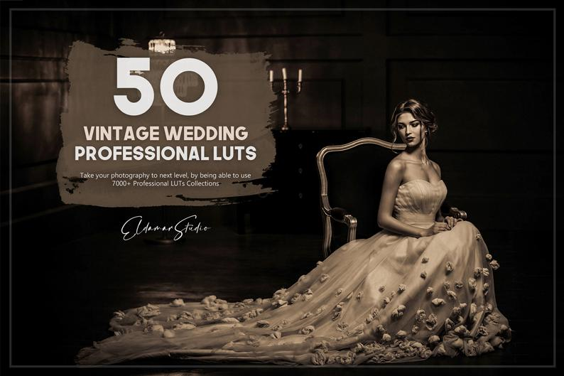 1000+ Wedding LUTs Collection, Design, Photo & Graphics Software Screenshot