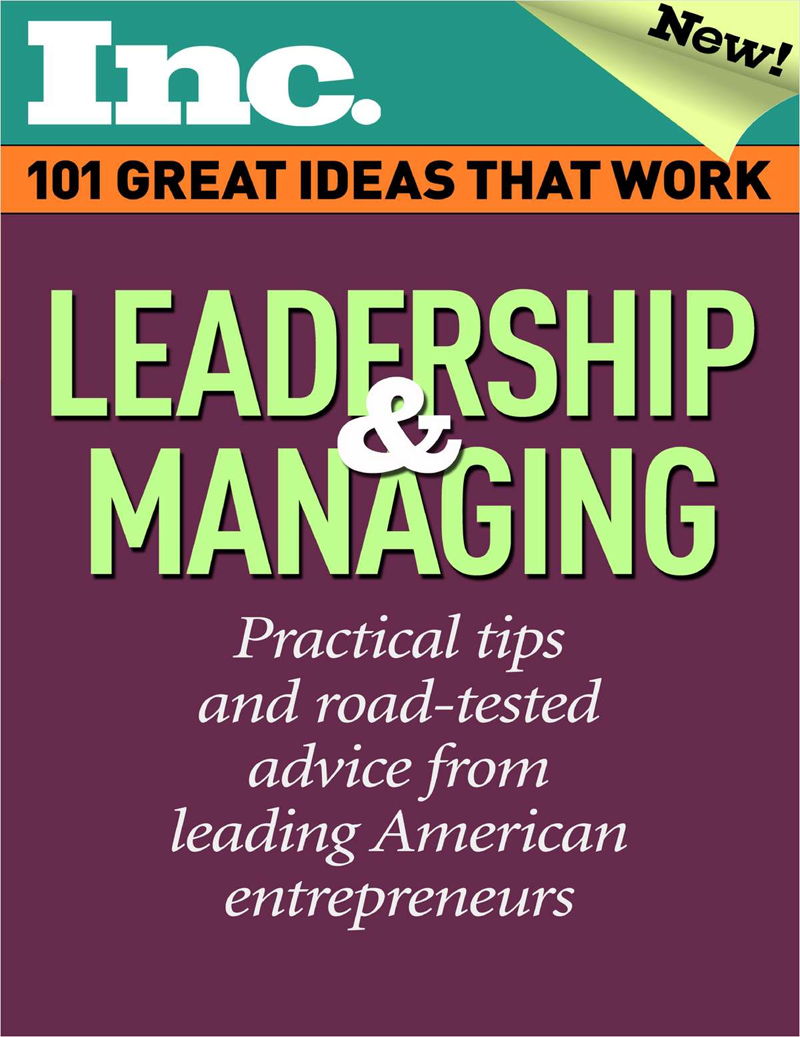 101 Great Ideas That Work: Leadership & Managing (Valued at $6.95) FREE! Screenshot