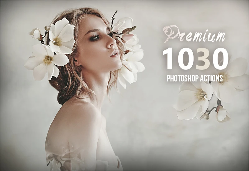 1030+ Premium Photoshop Actions Screenshot