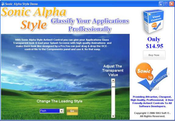 12 in 1 Sonic ActiveX Bundle - Christmas Offer, Development Software Screenshot