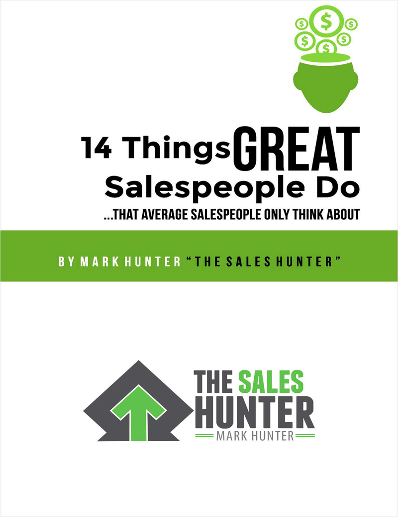 14 Things GREAT Salespeople Do, That Average Salespeople Only Think About Screenshot