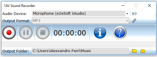 Hi-Q MP3 Recorder Pro Screenshot
