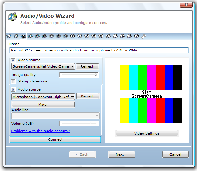 1AVCenter, Video Software Screenshot
