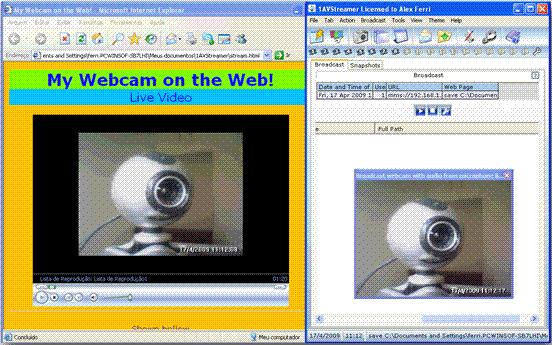 Hi-QoS Streaming Server Screenshot