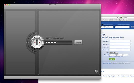 Security Software, Password Manager Software Screenshot