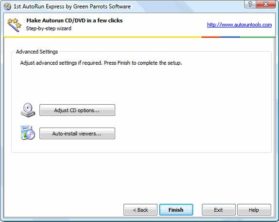 1st Autorun Express, Video Software Screenshot