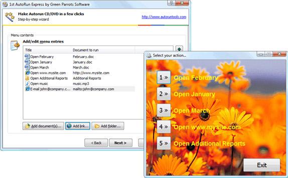 1st Autorun Express Screenshot