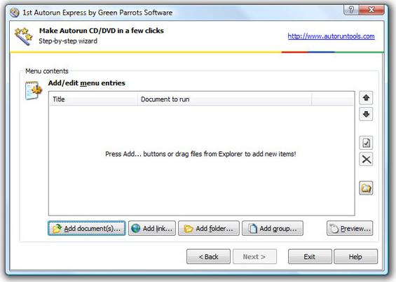 1st Autorun Express Screenshot 9
