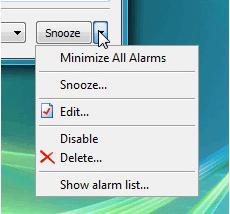 1st Clock, Clock Software Screenshot