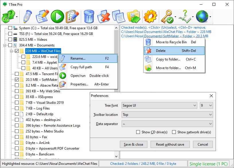 1Tree Pro Screenshot