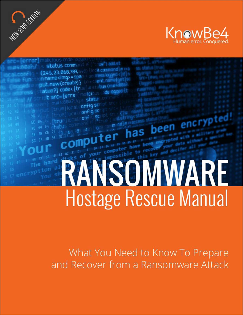 2019 Ransomware Hostage Rescue Manual Screenshot