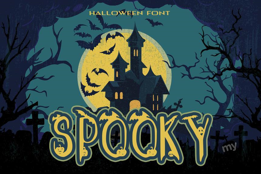 25 Halloween Fonts Screenshot