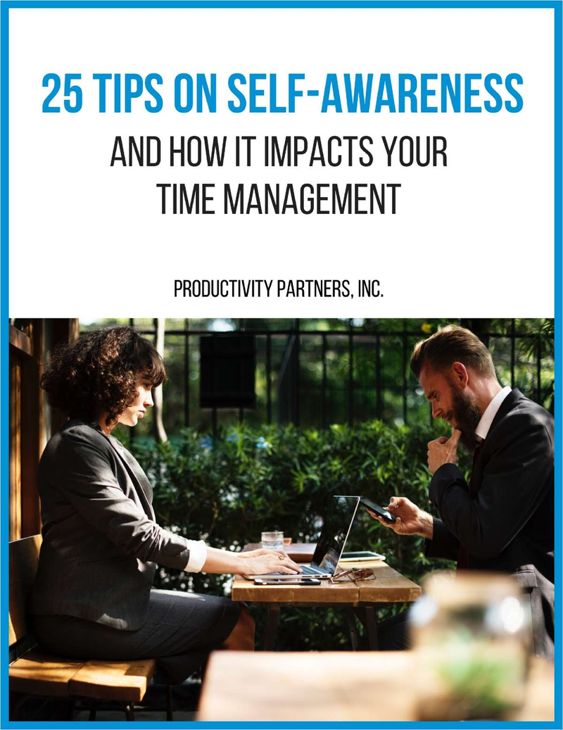 25 Tips on Self-Awareness - And How it Impacts Your Time Management Screenshot