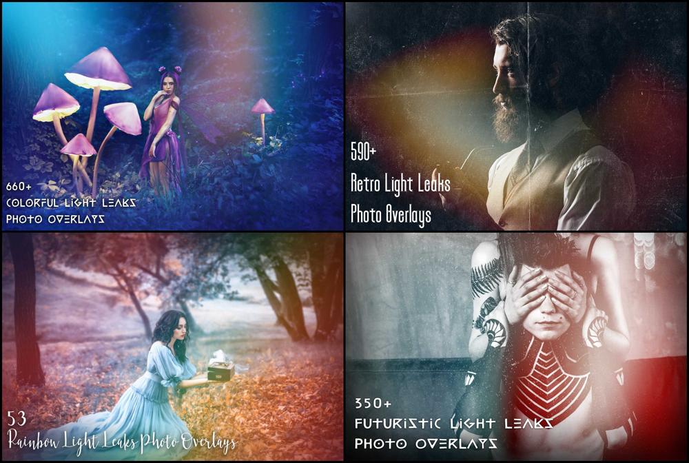 Design, Photo & Graphics Software, 25700+ Photo Overlays and Lightroom Presets Bundle Screenshot