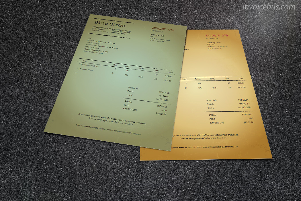 Business & Finance Software, 40+ Interactive Invoice Templates Screenshot