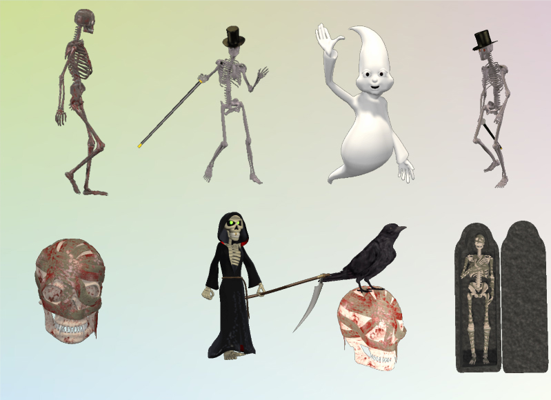 Animation Software, 3D Character MegaPack Screenshot