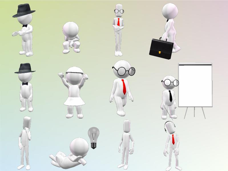 3D Character MegaPack Screenshot