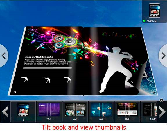 3D PageFlip Professional, Hobby, Educational & Fun Software Screenshot