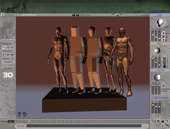 3D VFDS Male Screenshot