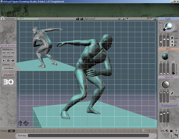 Art Technique Software Screenshot